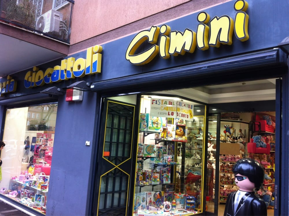Cimini negozi di giocattoli via prenestina 421 a for Cimini giocattoli roma