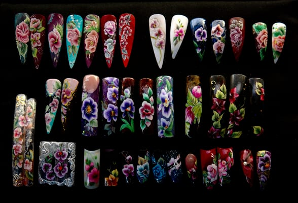 Nail Art In London Nail Salons Deancross Street Shadwell
