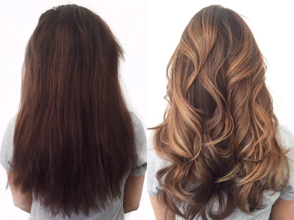 Before And After Of A Color Correction By Denessa Sims