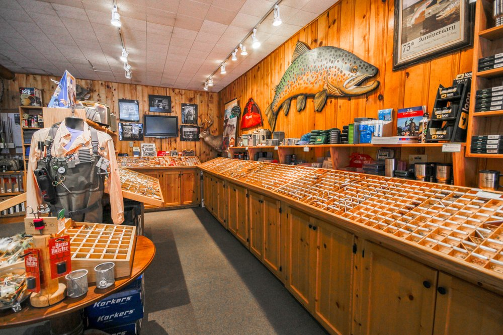 The Tackle Shop - Outfitter and Fly Shop: 127 Main St, Ennis, MT