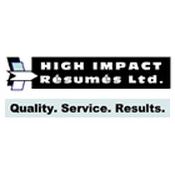 high impact resumes
