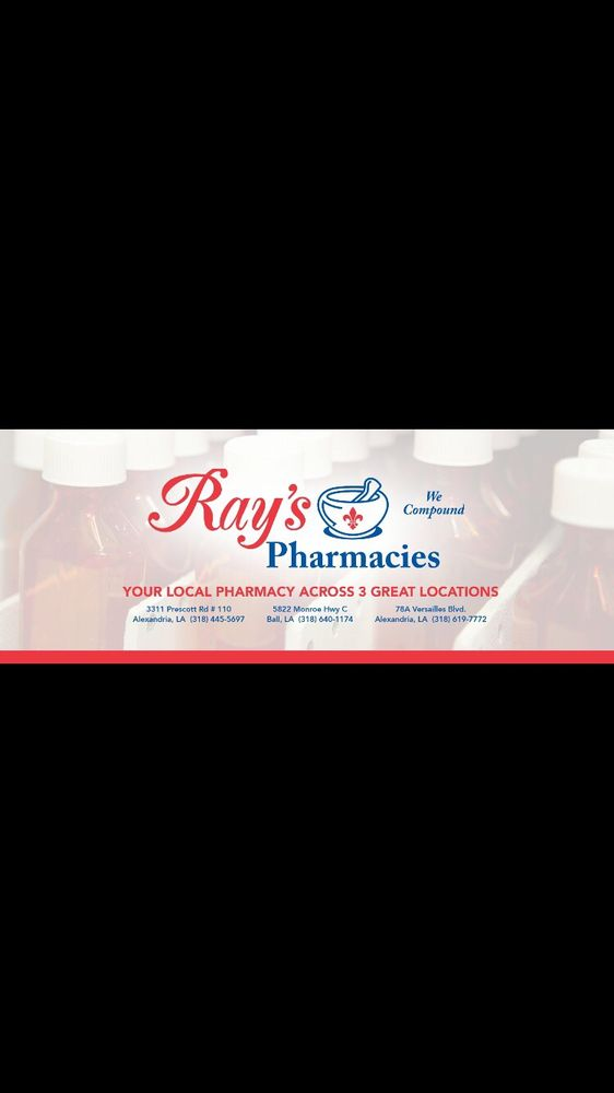 Rays Pharmacy: 5822 Monroe Hwy, Ball, LA