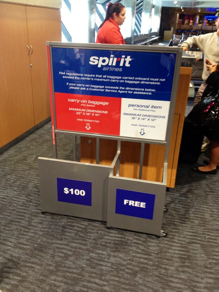 Photo Of Spirit Airlines Oakland Ca United States Size Does Matter