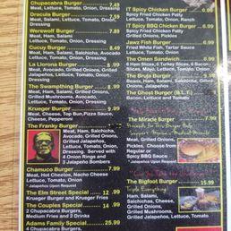 Photos For Monster Burger Menu Yelp
