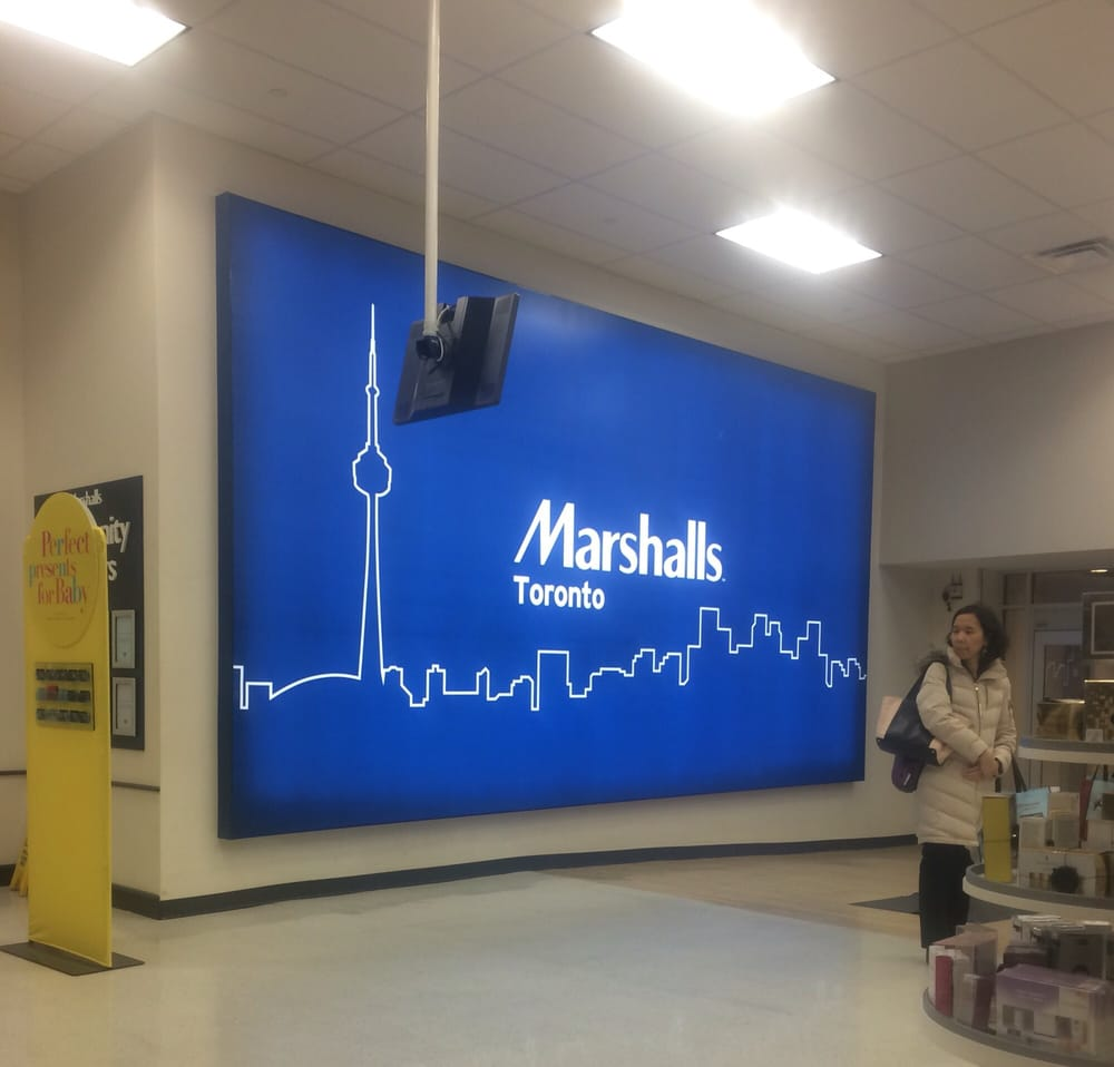 Marshall clothing store in toronto