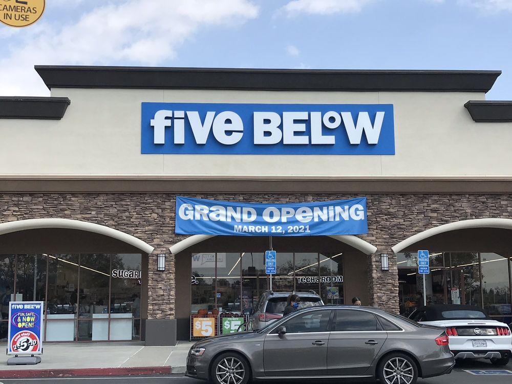 Five Below: 1326 S Beach Blvd, La Habra, CA