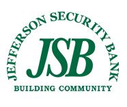 Jefferson Security Bank: 873 E Washington St, Charles Town, WV