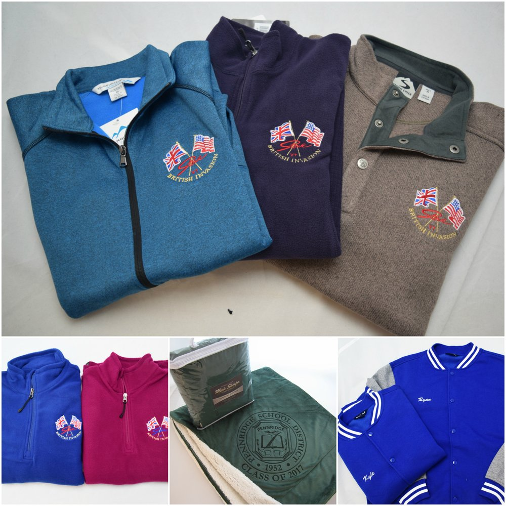 For This Fall Customize Promotional Jackets Sweater Blanket