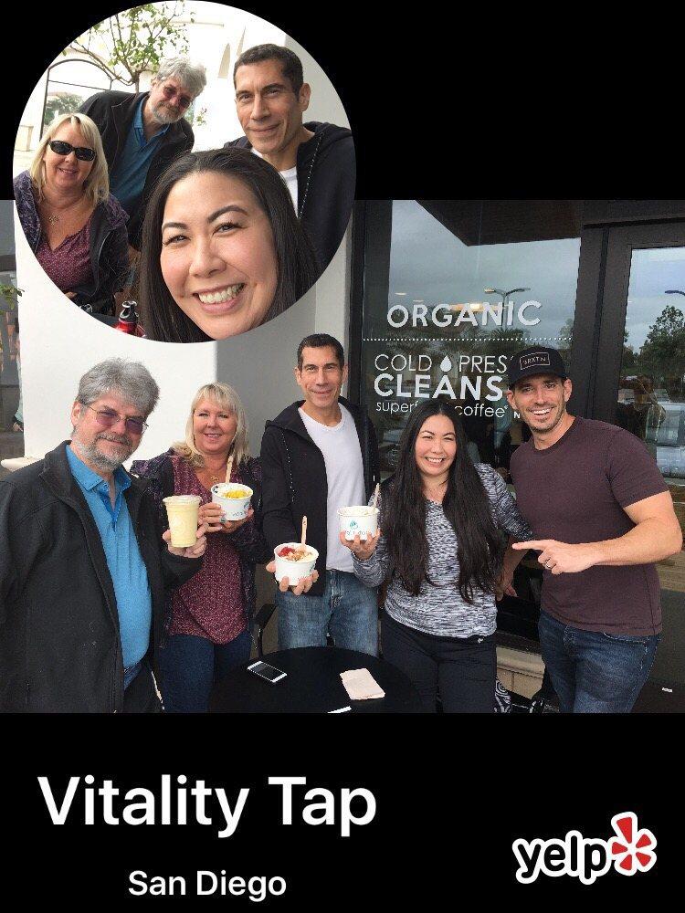 Vitality Tap
