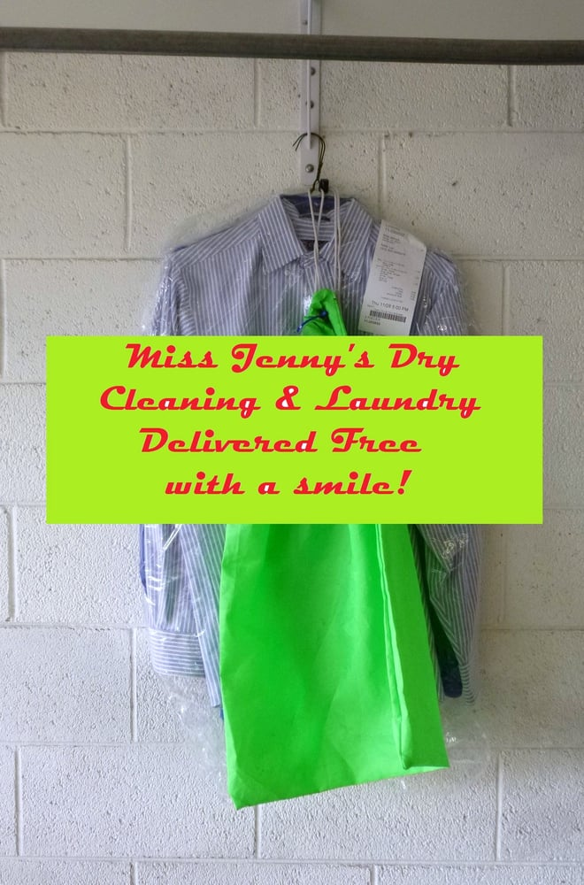 Miss Jenny's Dry Cleaning & Laundry Delivery