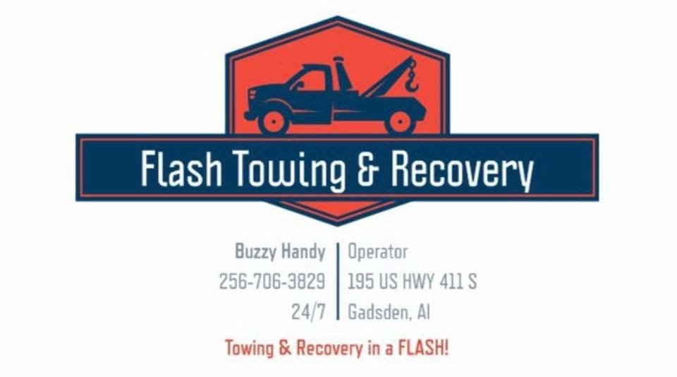 Flash Towing & Recovery: 195 US Hwy 411 S, Gadsden, AL