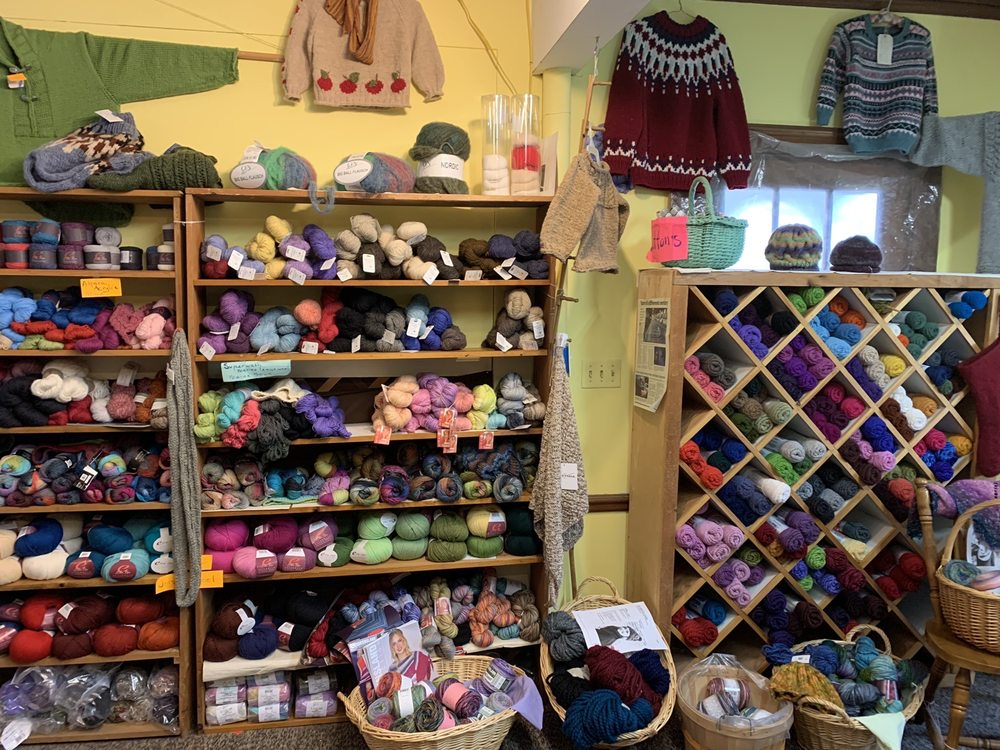 Bee's Yarns, Sweaters, & Candy: 59 Cottage St, Bar Harbor, ME