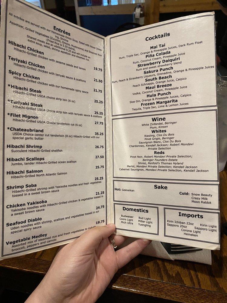 Sakura Japanese Steak House: 1059 W Eads Pkwy, Lawrenceburg, IN