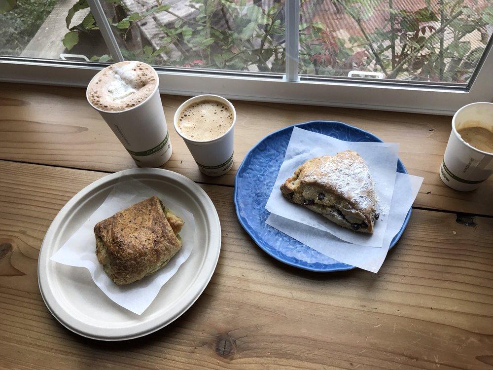 Gold Coast Coffee & Bakery: 25377 Steelhead Blvd, Duncans Mills, CA