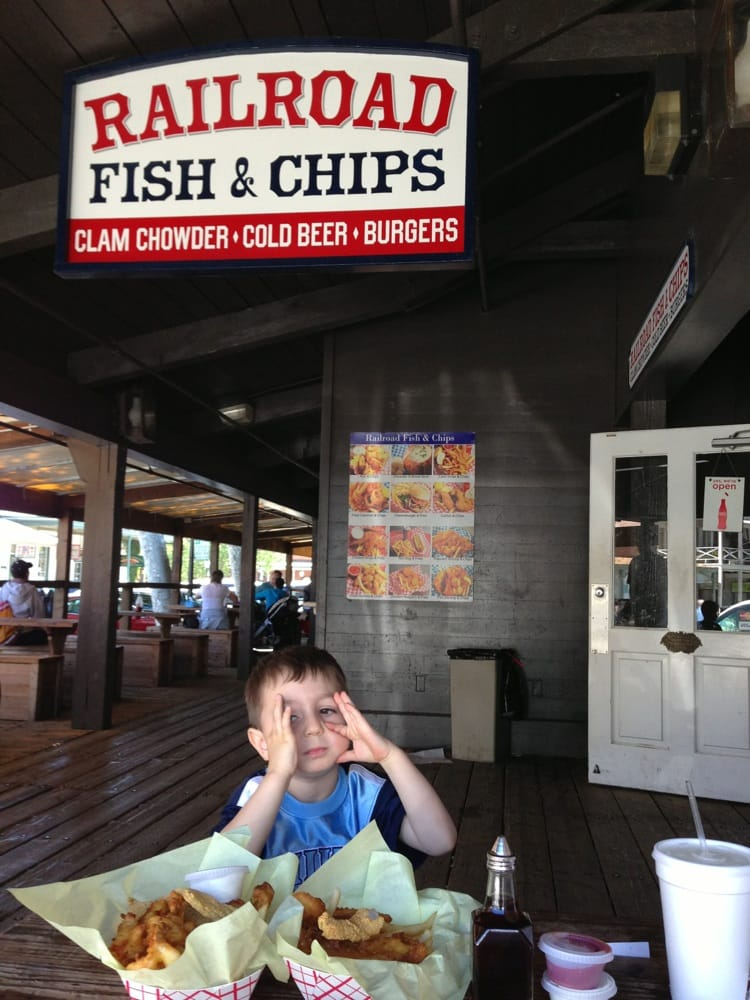 Fish and chips sacramento all about fish for Fishing store sacramento