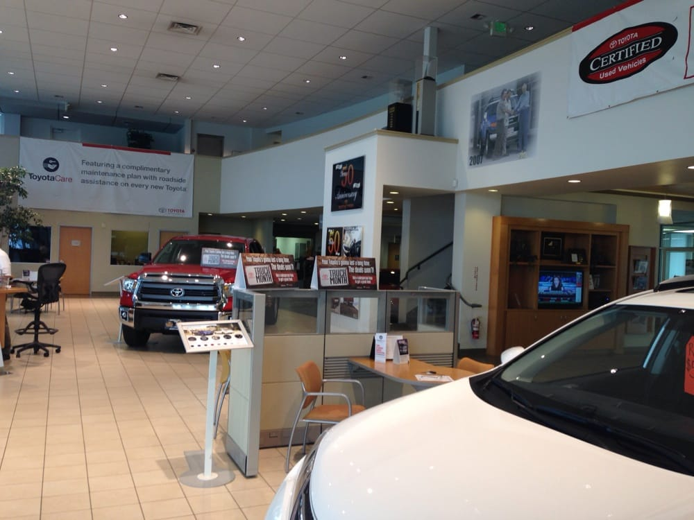 Photo Of Grants Pass Toyota   Grants Pass, OR, United States. Inside Wheeler