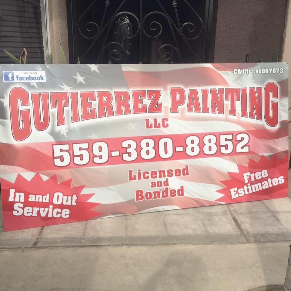 Gutierrez Painting: Hanford, CA