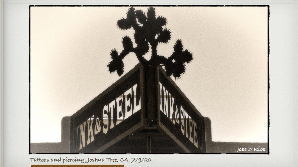 Ink& Steel: 61657 29 Palms Hwy, Joshua Tree, CA