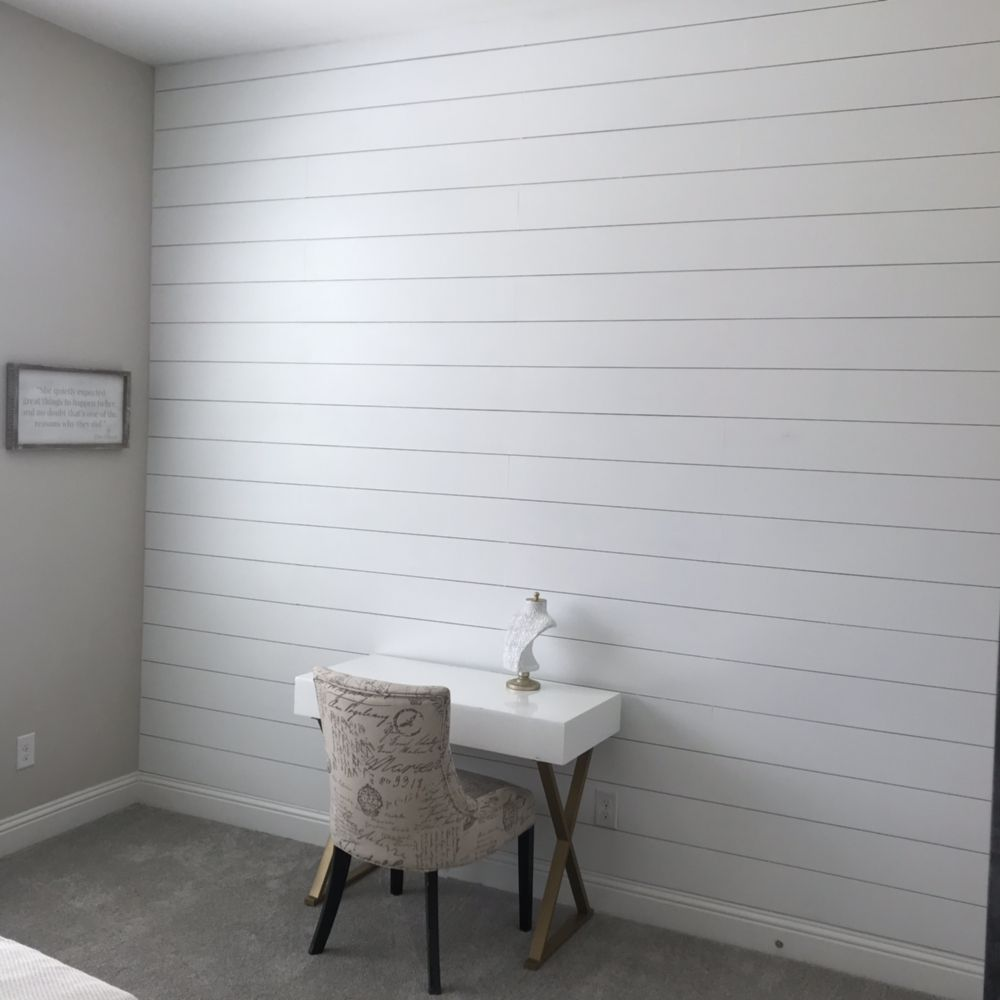 6 inch white horizontal Shiplap - Yelp