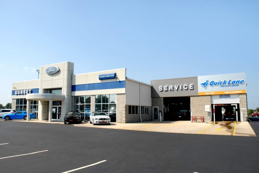 Sunset Ford of Waterloo: 1425 Il-3, Waterloo, IL