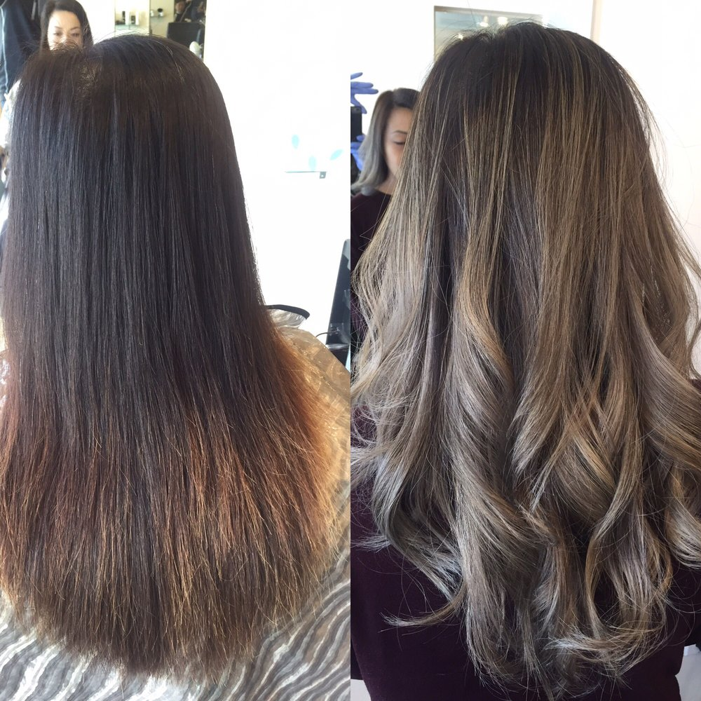 Ashy balayage by Tony!  Yelp