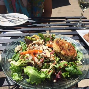 Photo Of The Vineyard S Restaurant Weston Mo United States Garden Salad