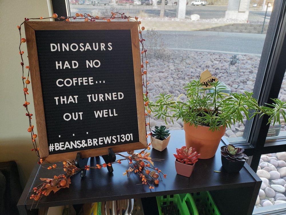 Beans & Brews Coffeehouse: 2125 West Highway 40, Vernal, UT