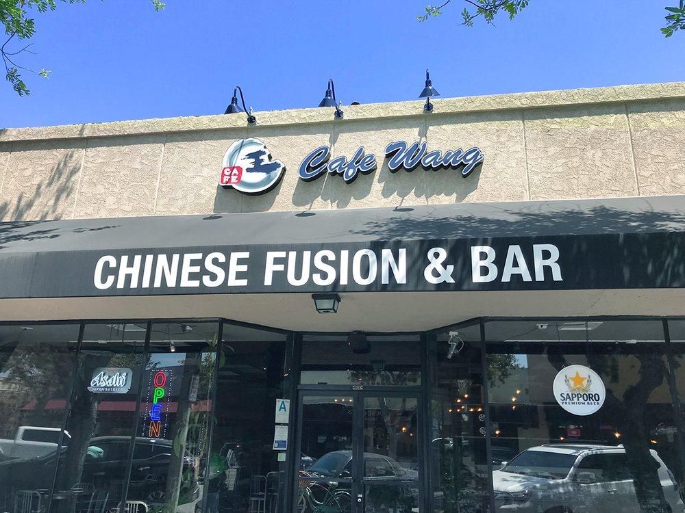 Food from Cafe Wang - Chinese Fusion & Bar