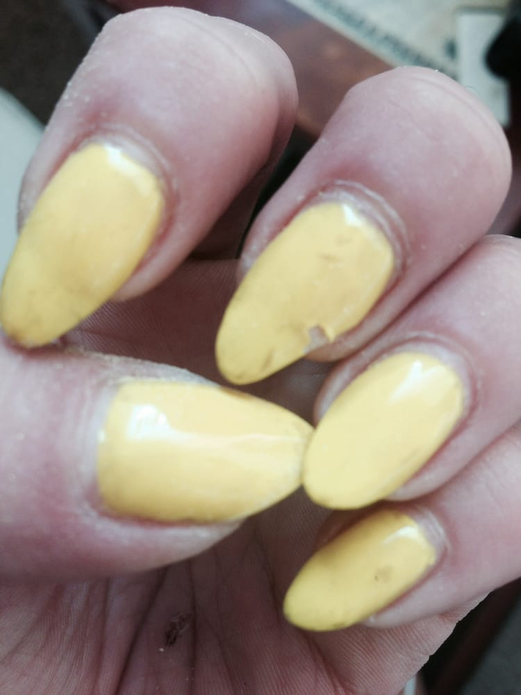 1 week later... They ruined MY nails. Crappy manicure, even worse ...