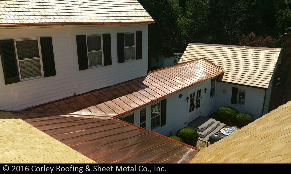 Photo Of Corley Roofing Sheet Metal Temple Hills Md United States
