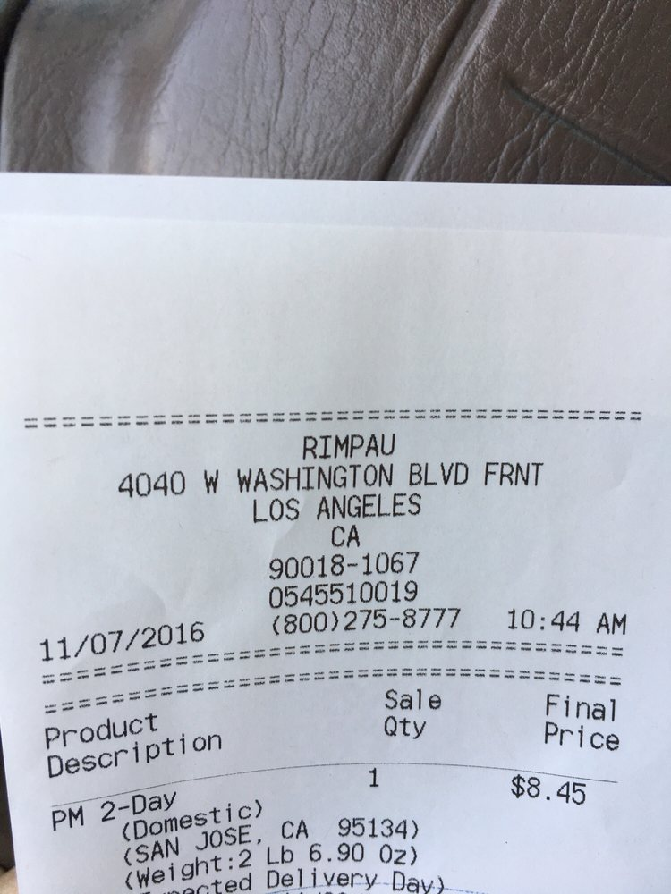 US Post Office: 4040 W Washington Blvd Frnt, Los Angeles, CA