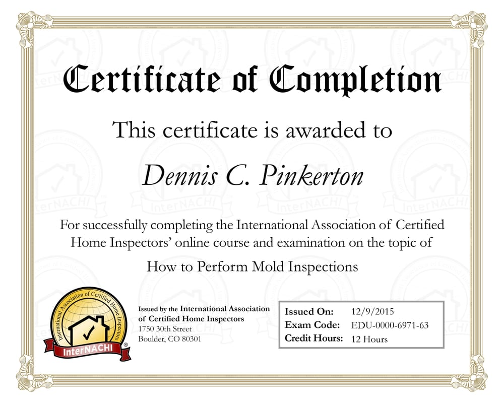 Dennis Pinkerton Home Inspections: Lake Havasu City, AZ