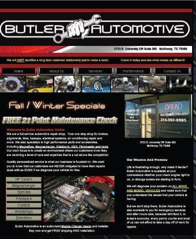 Butler Automotive: 3733 E University Dr, McKinney, TX