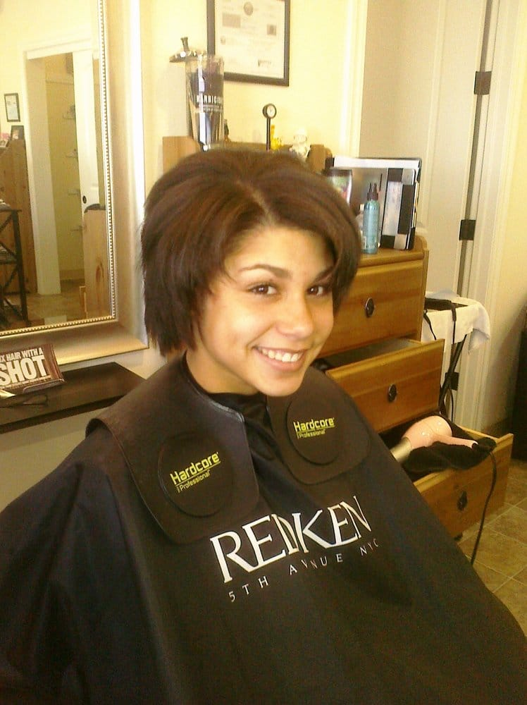 After Chemical Relaxer Shades Eq Color An In House Deep