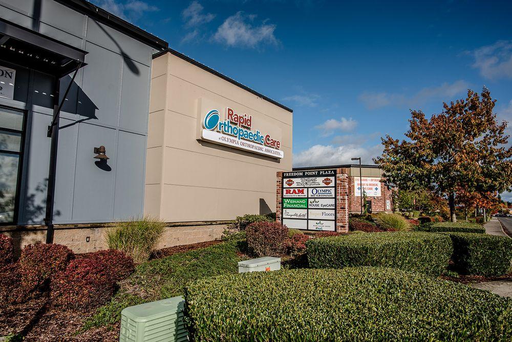 Olympia Orthopaedic Associates - Hawks Prairie Clinic | 8140 Freedom Ln NE, Lacey, WA, 98516 | +1 (360) 754-7622