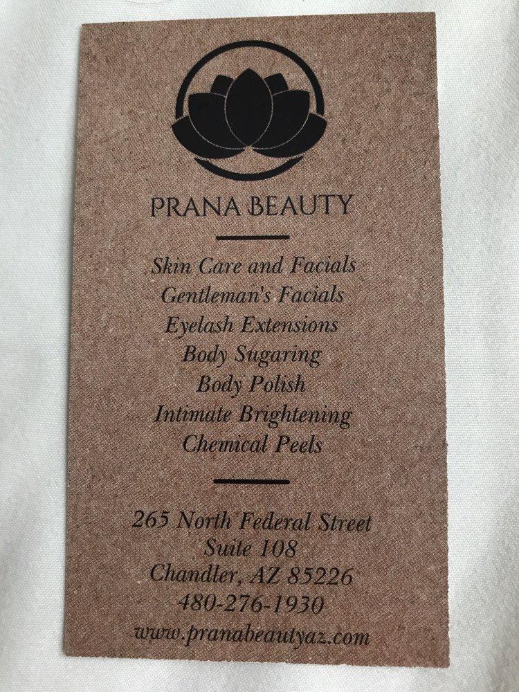 Prana Beauty Day Spas 265 N Federal St Chandler Az Phone