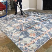 Before And After Photo Of Malibu Rug Cleaning   Malibu, CA, United States.