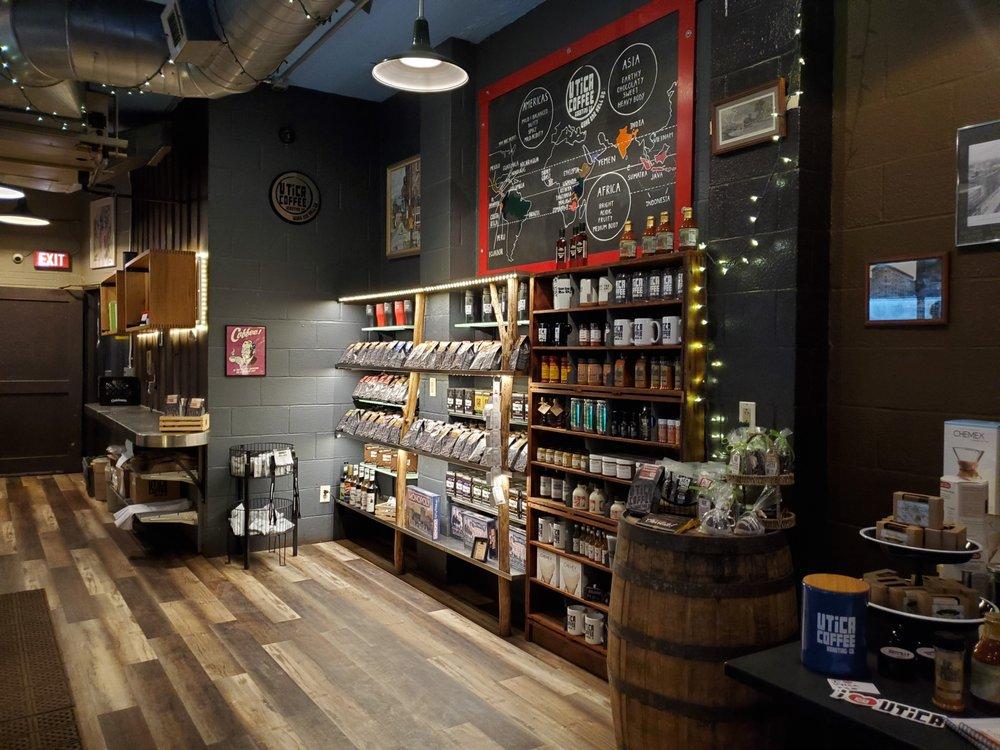 Social Spots from Utica Coffee Roasting