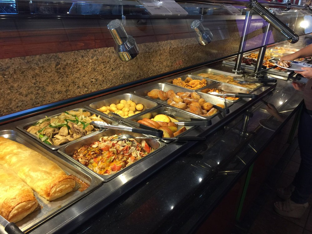 Food from China Town Buffet