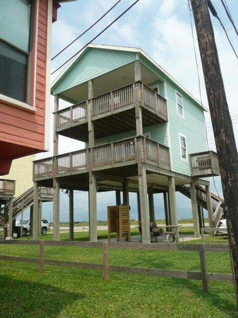 Photo of 3 beach houses galveston tx united states kevins cottage