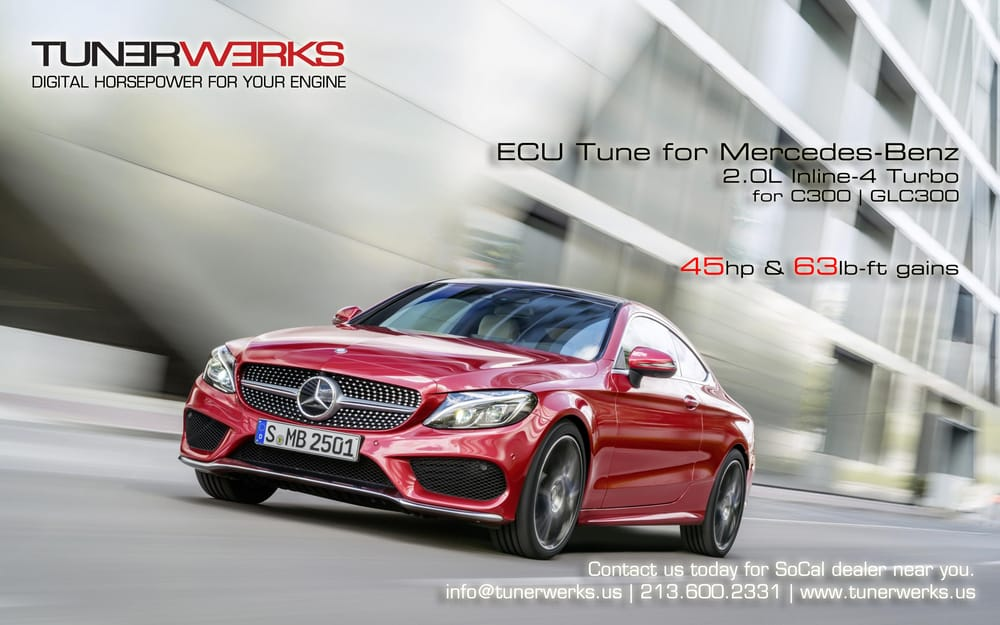 ECU tune available for W205 Mercedes-Benz C300 2 0L Turbo - Yelp