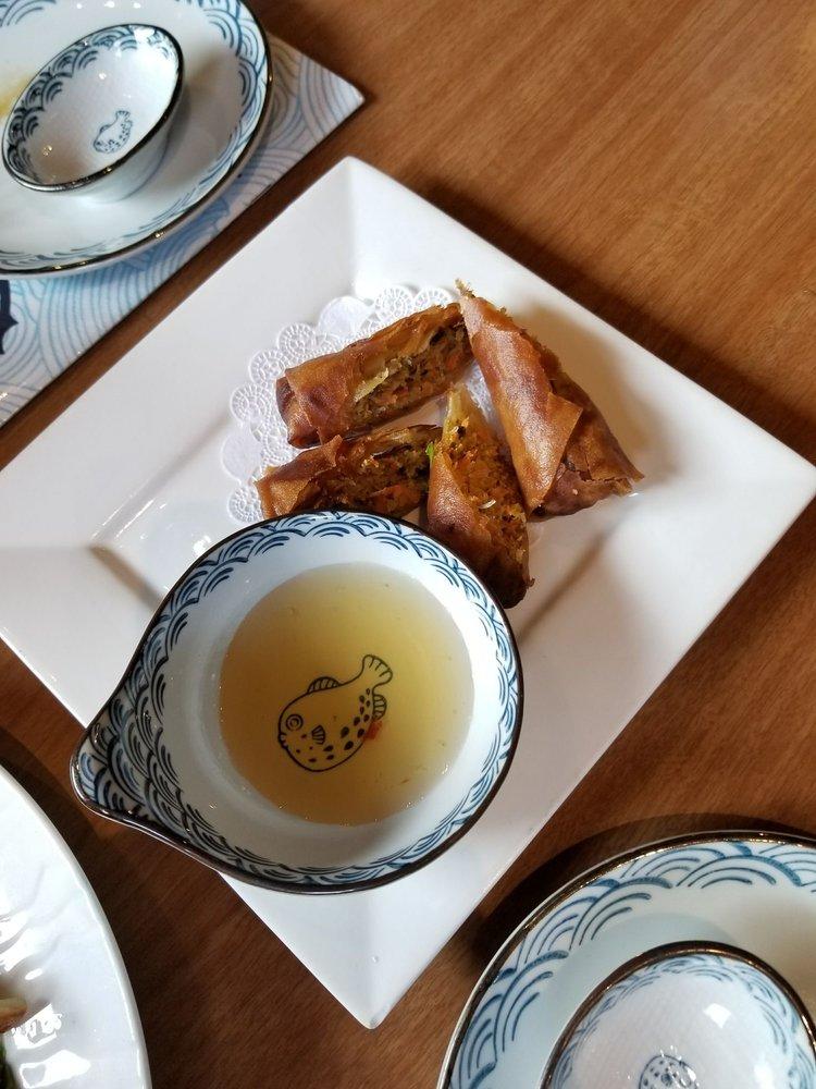 Food from Ikiiki Sushi