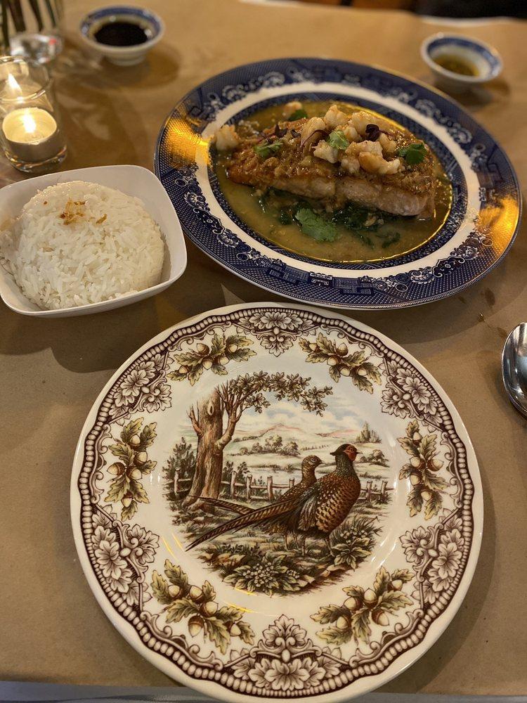 Food from Sla Thai Restaurant