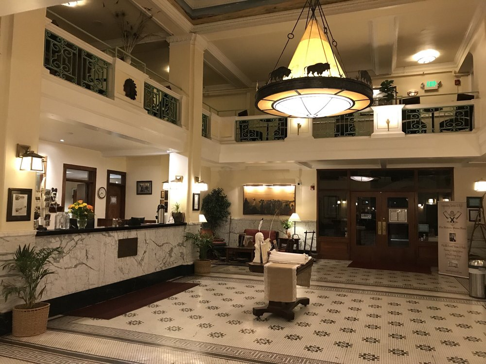 The Historic Plains Hotel: 1600 Central Avenue, Cheyenne, WY