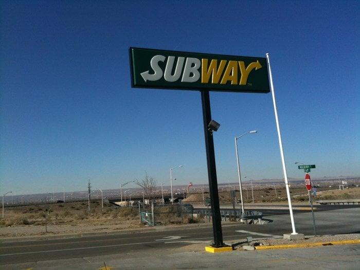 subway sandwich croque 1306 gibson blvd se airport base albuquerque nm vereinigte. Black Bedroom Furniture Sets. Home Design Ideas