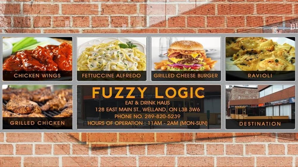 Fuzzy Logic Eat & Drink Haus