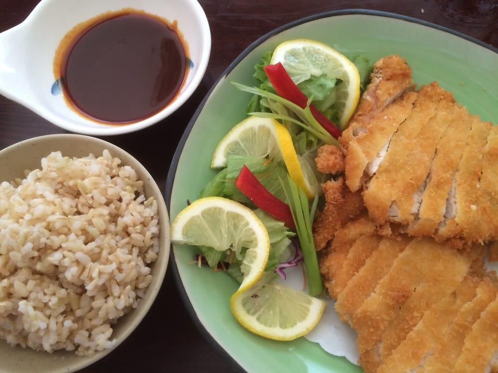 Tonkatsu aka pork schnitzel 9 yelp for Aka japanese cuisine