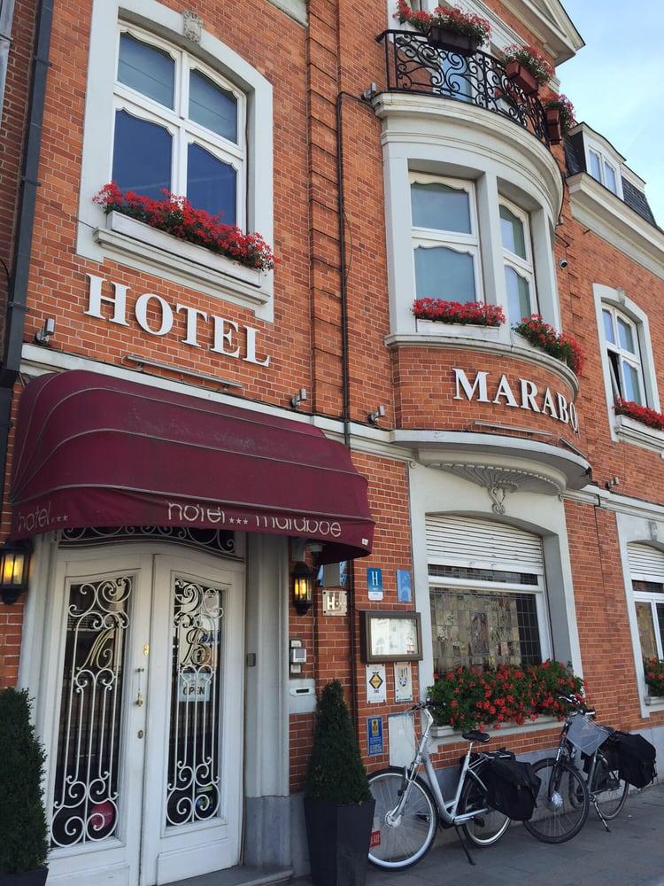 Hotel maraboe h tels hoefijzerlaan 9 bruges west for Hotel numero