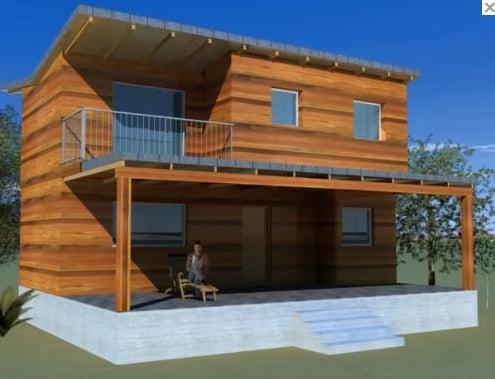 Tu casa como quieras casas de madera vacation rentals - Casas de madera valencia ...