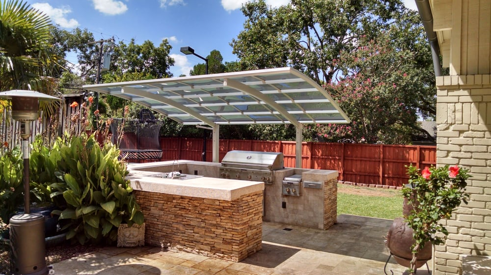 Modern Carport Kit United States : Outdoor entertaining rain or shine all units have built